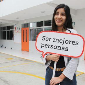 """Campaña """"Ser mejores personas"""" en Trilce Callao"""