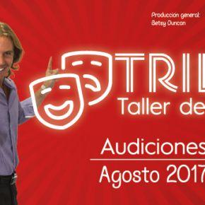 """Audiciones de teatro """"Agosto 2017"""""""