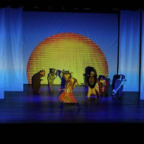 El musical de Broadway El Rey León es presentado por alumnos Trilce