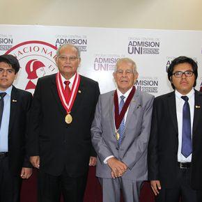 Ceremonia de bienvenida a los ingresantes UNI 2018-1