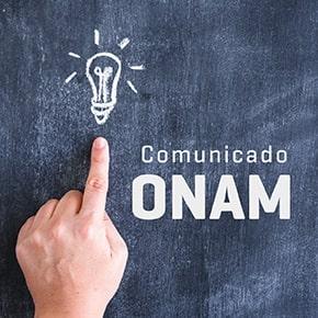 Comunicado ONAM